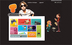 Le site Kids Tremplin