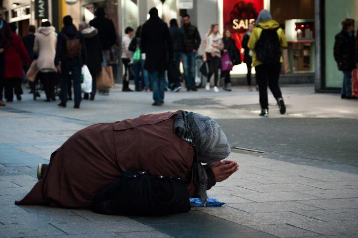 Belgium, Brussels, Jan 22 2016 - HomelessReporters / STG